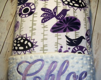 Blanket, Baby Gift, Baby Shower Gift, Personalized Baby Blanket, Baby Blanket, Blanket, Girl Blanket, Minky Blanket, Embroidered Gift, Throw