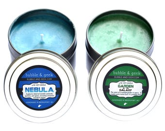 Garden of the Galaxy Soy Candle Tin Gift Set