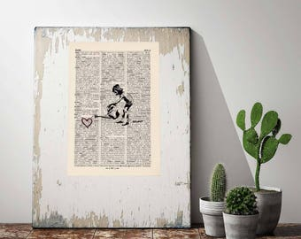 Pressure Scampi-care for your heart-on antique page