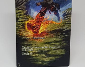 Magic the Gathering Swiftfoot Boots alter