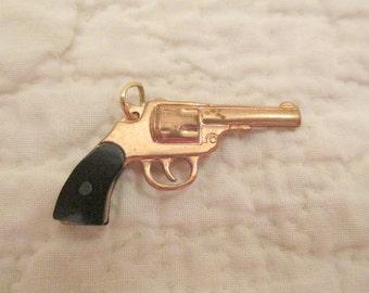 Vintage Revolver Charm SALE