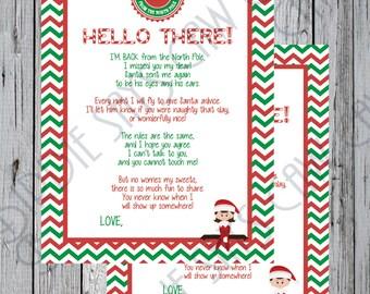 Elf goodbye letter Etsy