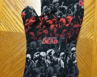 Walking Dead Oven Mitt