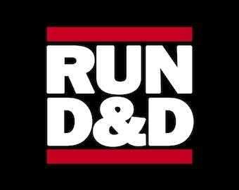 Run D&D Roleplaying Shirt