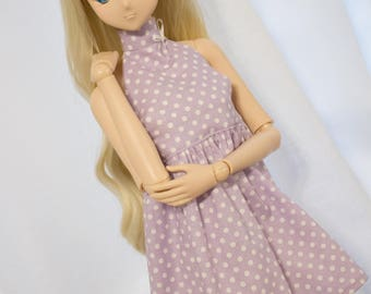 Polkadot Halter Dress