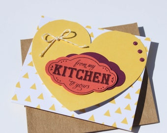 From My Kitchen to Yours Greeting / Gift Card