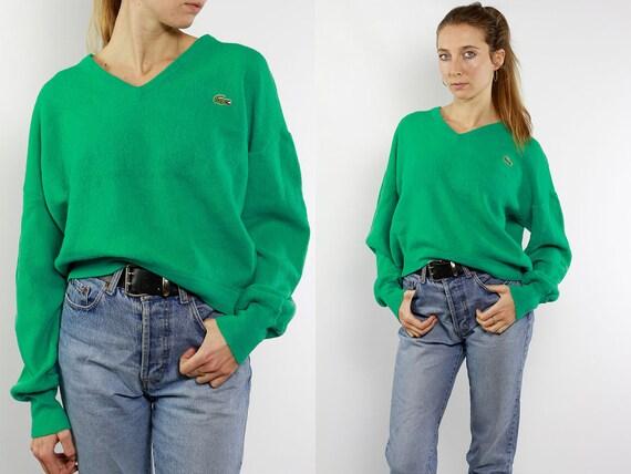 Lacoste Izod Sweater / Lacoste Izod Jumper / Lacoste Sweater / Lacoste Jumper / Lacoste 80s / Lacoste Wool Sweater / Lacoste Wool Jumper