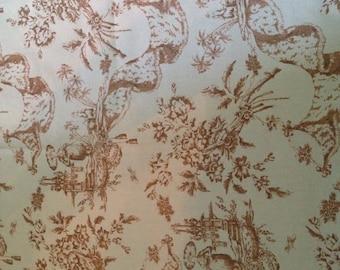 Madam Butterfly Fabric FREE SHIPPING One Yard