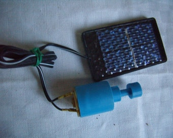 Engine kit, Science DIY solar cell powered continuous.