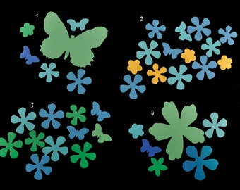 Polymer Clay Flower and Butterfly Collections