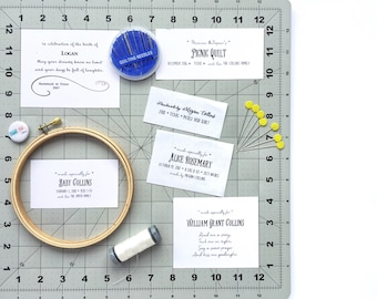 Add a Personalized Label to your Quilt