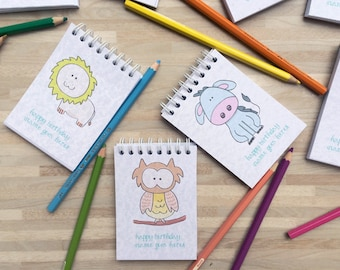 15 Animal Coloring Books as Kids Birthday Favors / Party Gift