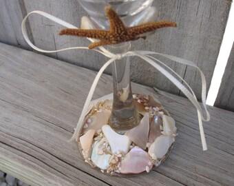 Coastal Wedding Decoration Sugar Starfish Bride And Groom
