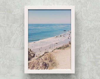 Color Photo Giclee Print - El Matador Beach - Malibu, California