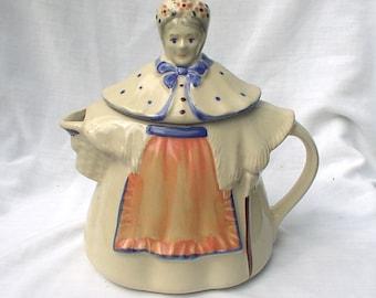 Shawnee Pottery Granny Anne Teapot 1940s