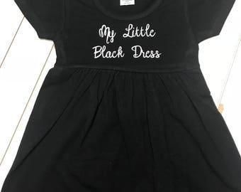 Toddler Size Black Dress