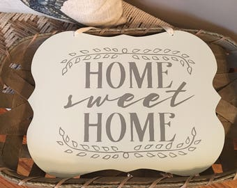 Home Sweet Home Hanging Sign