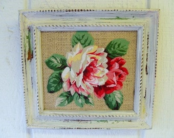 SHABBY CHIC Floral  ART