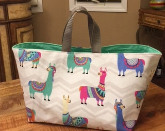 Bucket Tote/Project Bag