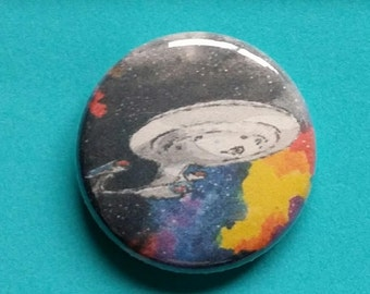 Star Trek: The Next Generation NCC-1701-D Enterprise Button