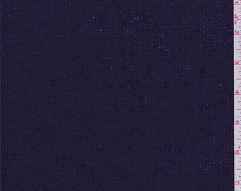Regal Purple Wool Blend Sweater Knit, Fabric By The Yard