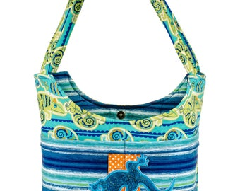 Vacation Gifts, Lizard Tote Bag, Iguana Purse, Everyday Tote, Beach Bag, Pool Tote, Summer Bag, Poolside Purse, Best Friend Gift, Book Bag