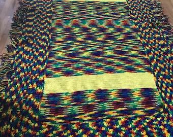 Handmade Twin size blanket