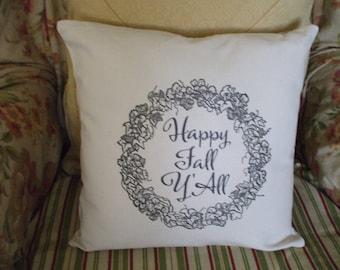 Fall Decor Pillow