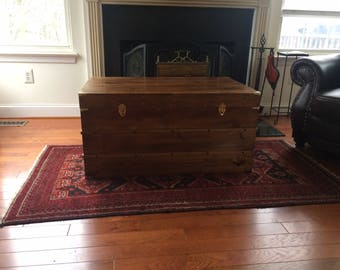 Classic Solid Wood Trunk