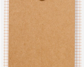 Amy Tangerine Rise and Shine - Memo Ticket Pad -- MSRP 3.00