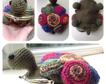 Tortoise Coin Purse Crochet Pattern