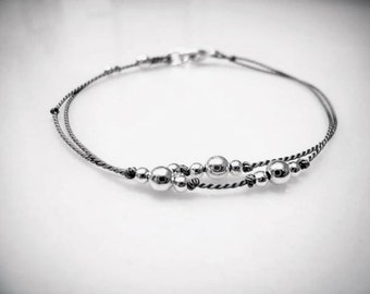 Friendship Bracelet - Simple Bracelet - Circlet - What Binds Us - Marathon Jewelry - Book Club - Memory Bracelet - Dainty Bracelet - #1-020
