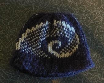 Baby Ram's Horn Hat