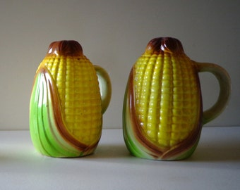 Salt and Pepper Corn on Husk with Handle