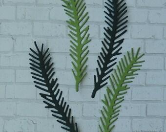 Leaf Style # 12 Die Cuts, Pine leaves