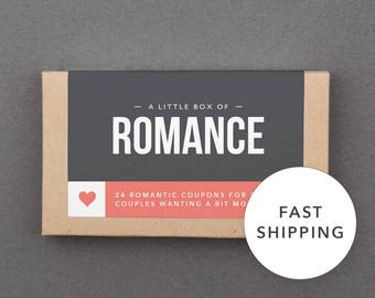 """Romantic Stocking Stuffer, Filler for Girlfriend, Wife, Boyfriend, Husband. Fun, Funny. Christmas Gift Under 25. """"Love Coupons"""" (L2ROM)"""