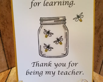 Teacher - You Light the Path for Learning