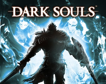 Dark Souls Video Game Poster
