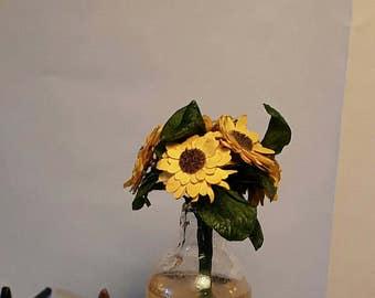 Miniature sunflowers
