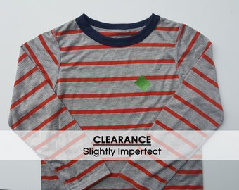 CLEARANCE// Long sleeve CHARLIE shirt, slightly imperfect, size 7