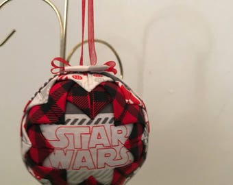 """3"""" Quilted Star Wars Ornament"""