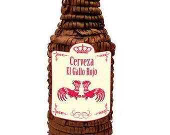 Beer Cerveza Bottle Piñata 16X20 inches