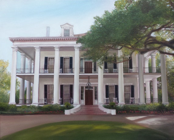 CUSTOM HOUSE PAINTING - House Portrait - Portrait of House - Housewarming Gift