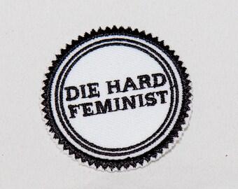 """Die Hard Feminist - 2"""" Patch"""