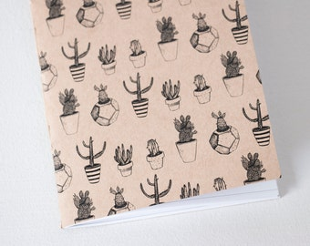 Book - Cactus / journal, notebook, notebook, notebook, stationery
