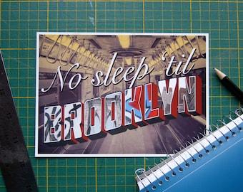 Beastie boys quote etsy song lyric typography print no sleep til brooklyn wall art beastie boys dorm room stopboris Choice Image