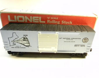 Lionel 9611 1978 TCA 24th Boston National Convention High Cube Box Car