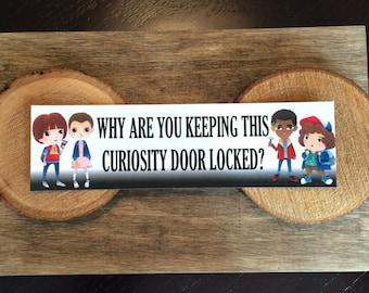 Strange Bookmark - Quote - Curiosity