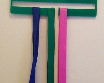 Personalised medal hanger, runner, motivational medal holder,  running, swimming, dance medal, medal display, marathon running, race medal