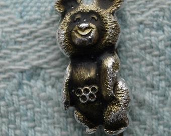 Icon USSR Vintage Olympic Bear 1980